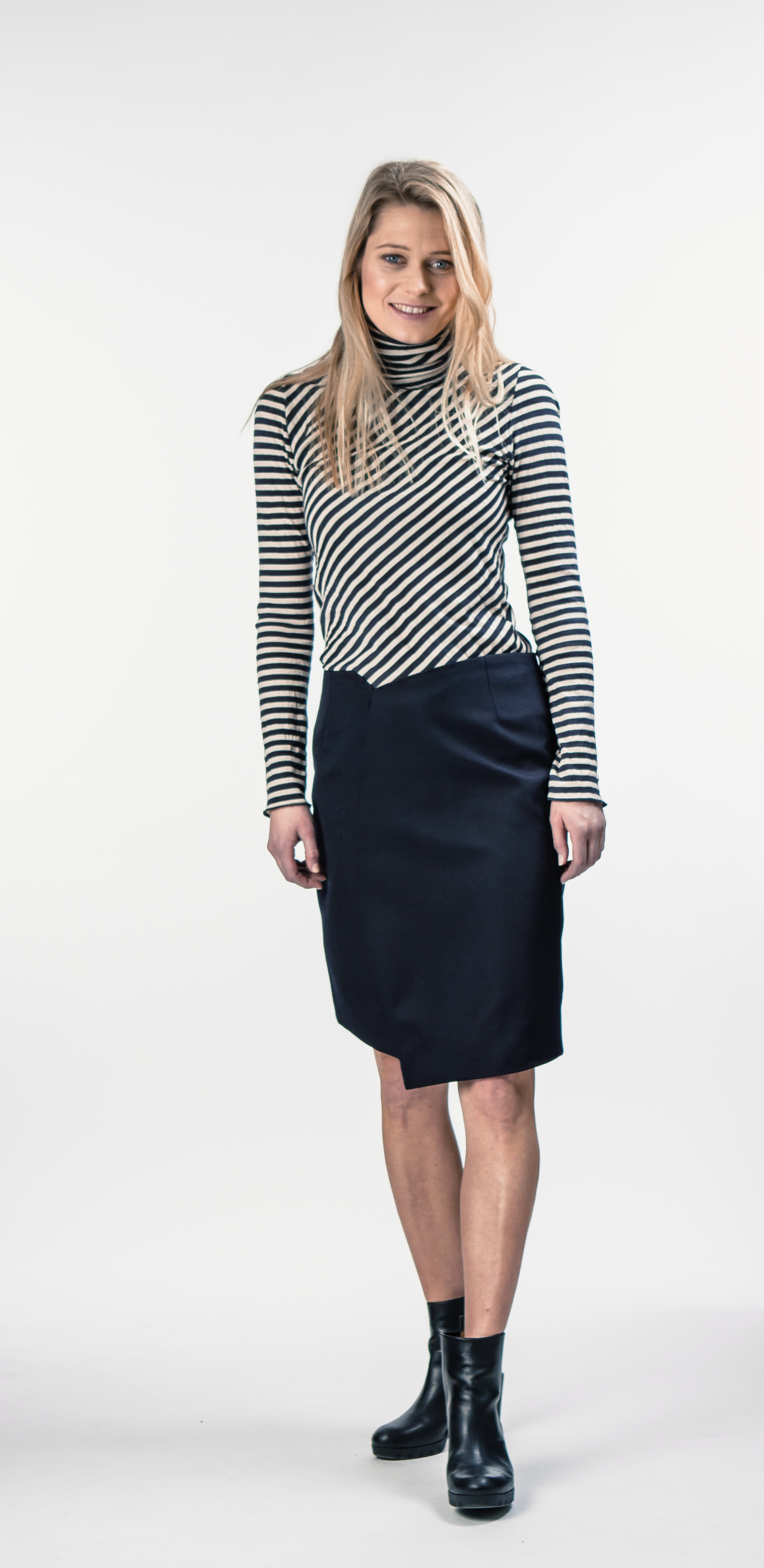 Swan polo Seam skirt